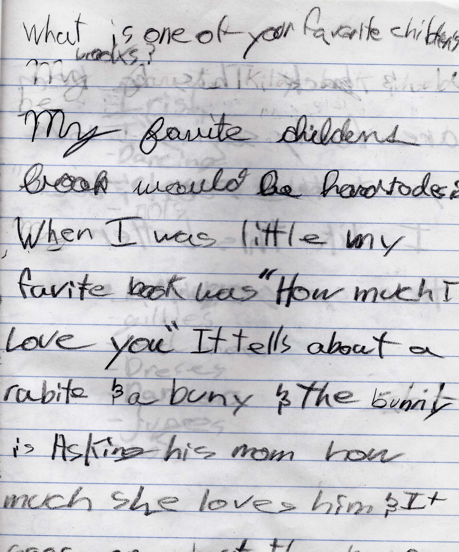 dyslexia writing